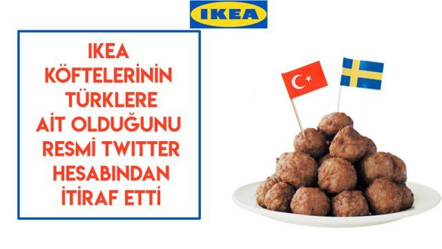 """IKEA'dan açıklama: """"Köftelerimiz Bize Özgü Değil, Türk Tarifidir"""""""