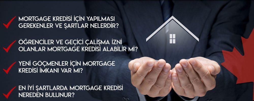 Kanada'da Emlak (Mortgage) Kredileri