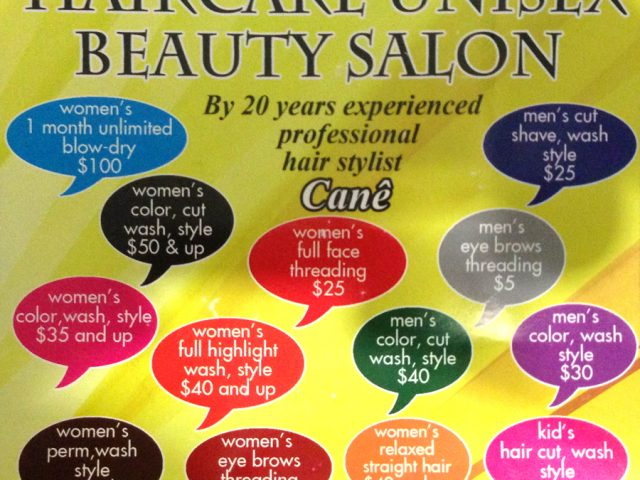 Haircare Unisex Beauty Salon