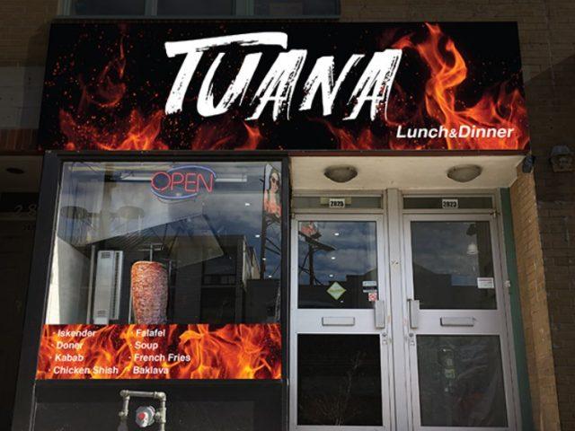 Tuana Lunch & Dinner
